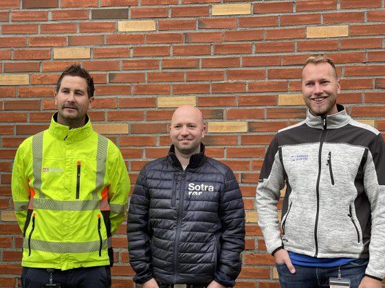 Bilde av prosjektlederne