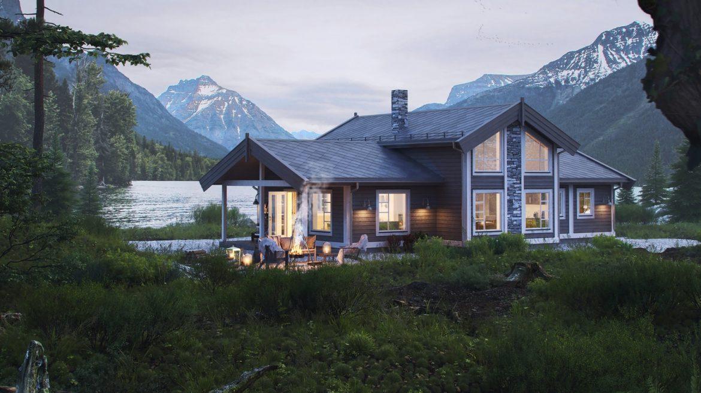Bilde av hyttemodellen Sletthø